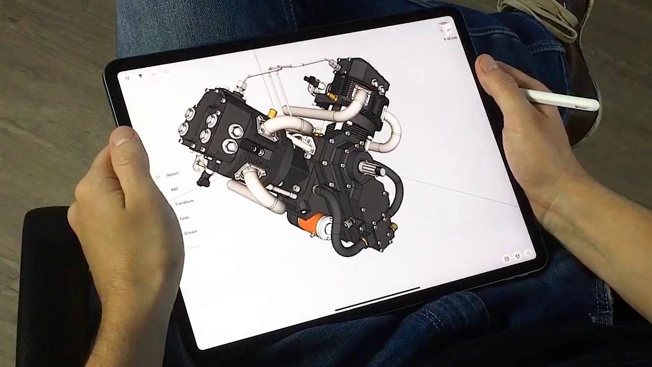 The Leading Mobile 3D Design App for iPad   Shapr3D   3d ...