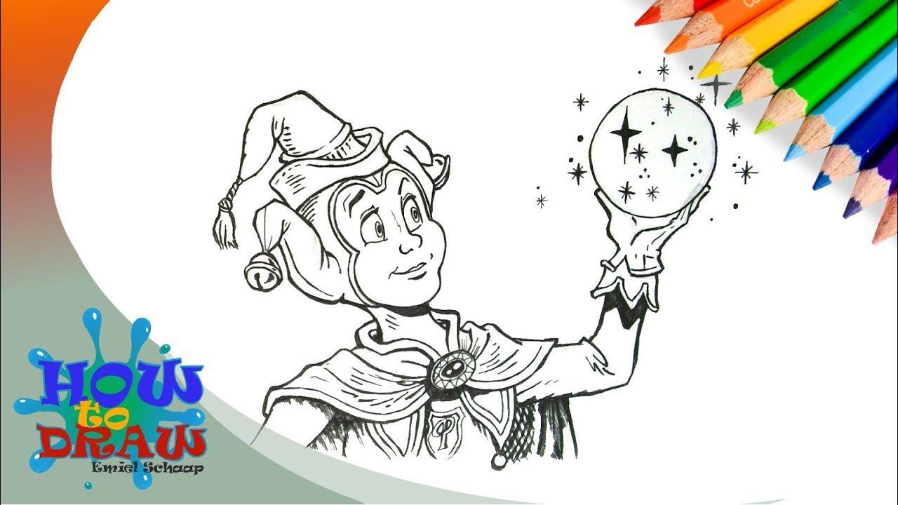Pardoes De Tovernar Efteling Drawing Pardoes Como Dibujar Pardoes Drawing Tekenen Schilder