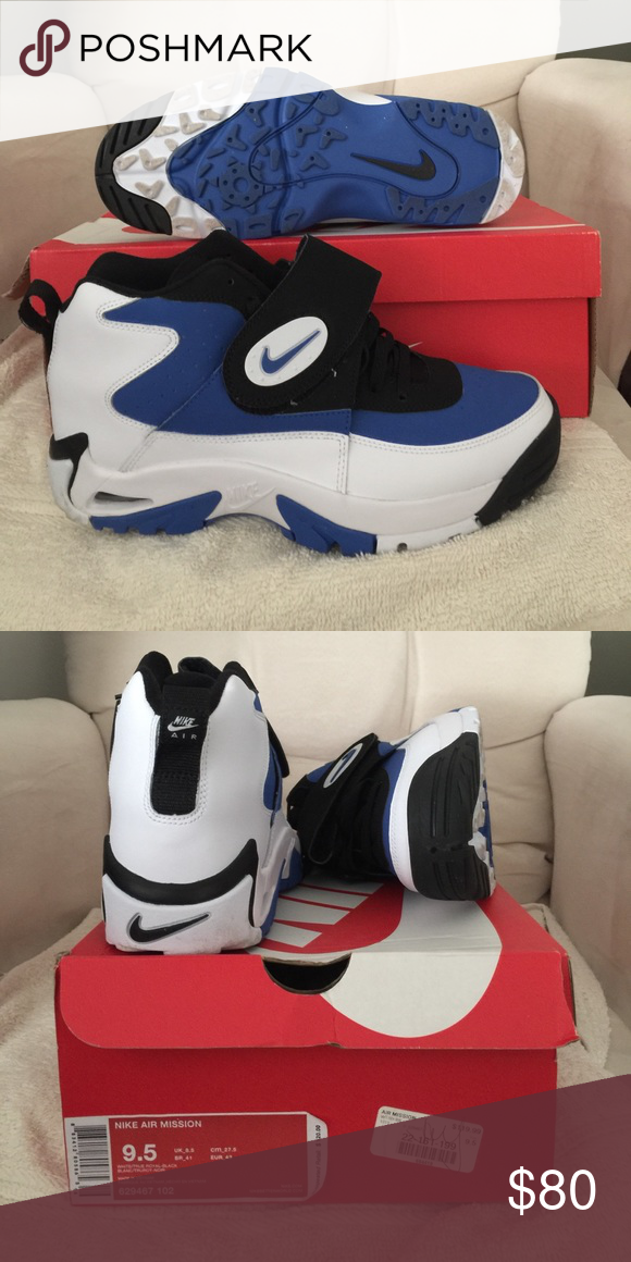 2e044aa14c Nike Air Mission size 9.5 Size 9.5 Junior Seau 9/10 excellent condition  worn twice Nike Shoes Sneakers