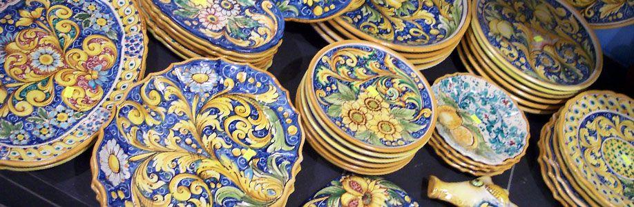 Ceramiche di vietri sul mare italiano vero pinterest - Ceramiche di vietri piastrelle ...