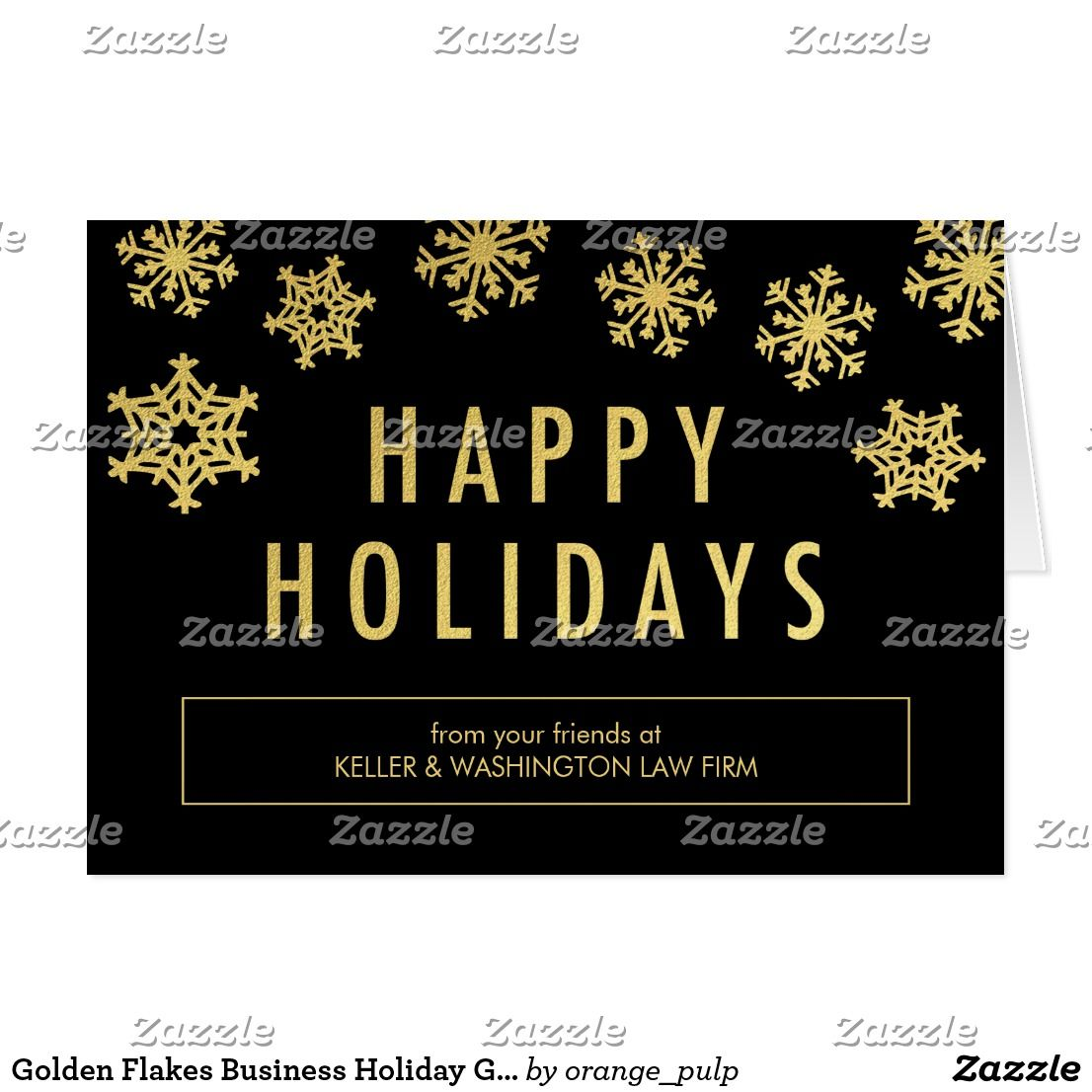 Golden flakes business holiday greeting card spread some joy this golden flakes business holiday greeting card spread some joy this holiday season with these chic and stylish holiday cards from orange pulp designs m4hsunfo