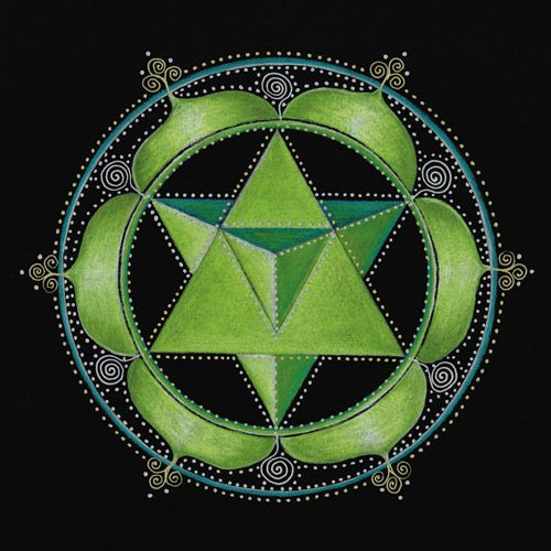 Heart Chakra by Laural Virtues Wauters