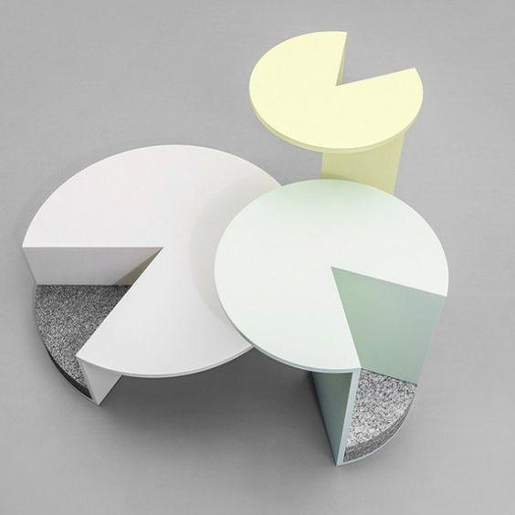 Coup de cœur : « Pac Table » , des tables d'appoint par Klemens Schillinger