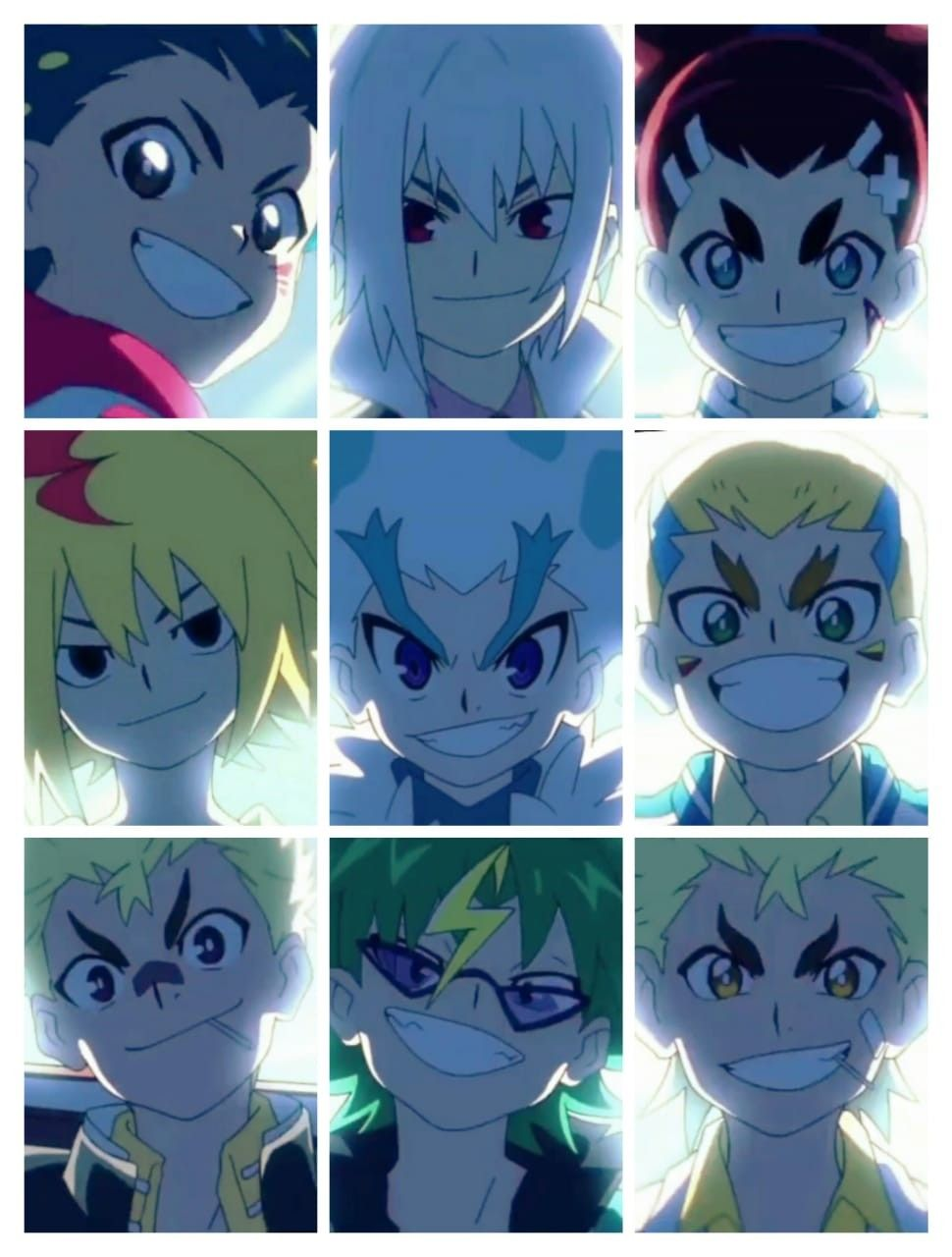 Legendary Bladers In 2020 Anime Films Beyblade Characters Anime
