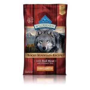 BLUE Wilderness™ Rocky Mountain Recipe Grain Free Large Breed Dog Food | Dry Food | PetSmart  16% fat