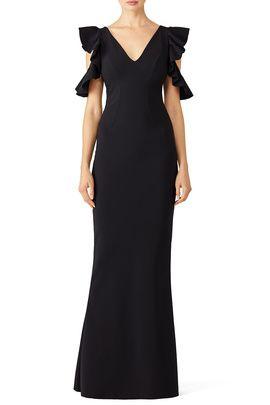 2e5981e0 Black Buffy Gown by La Petite Robe di Chiara Boni | Dee's ...