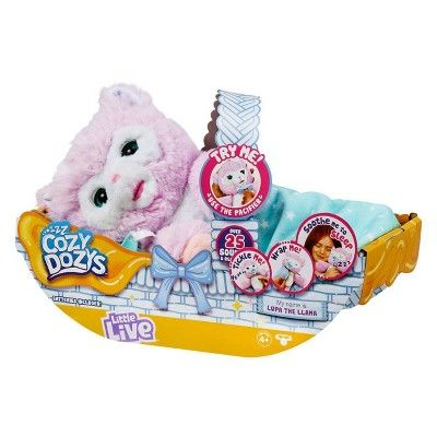 Little Live Cozy Dozys Lupa the Llama Popular toys for