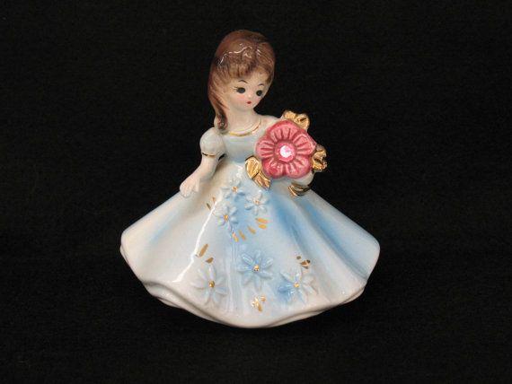 Josef Figurine October Birthday Doll Original by MicheleACaron