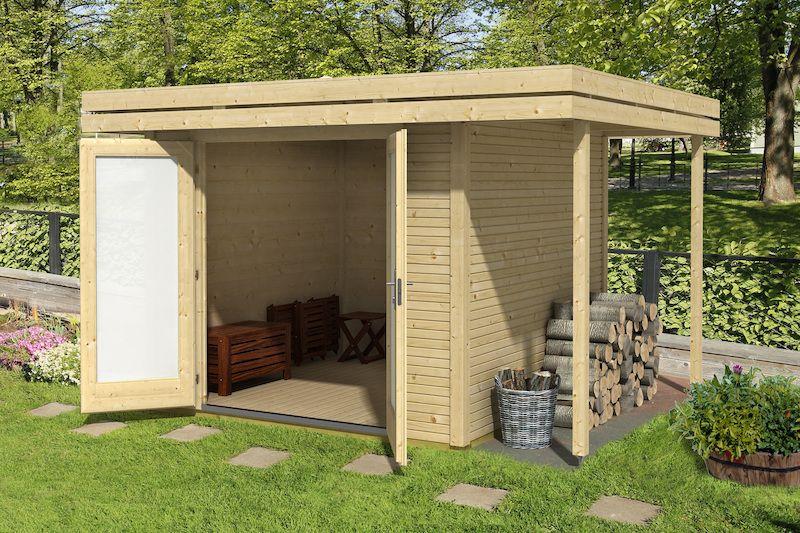 Gartenhaus Sulawesi Geräteschuppen bauen, Holzhütte
