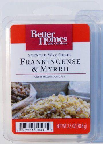 TOPSELLER Better Homes and Gardens Frankincense Myrrh Wax Cubes