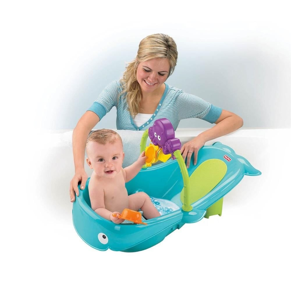 Fisher-Price Precious Planet Whale of a Tub | Fisher price, Baby ...