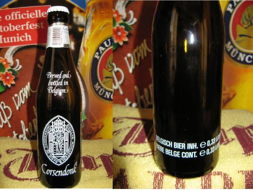 CORSENDONK - BOUTEILLES SERIGRAPHIEES