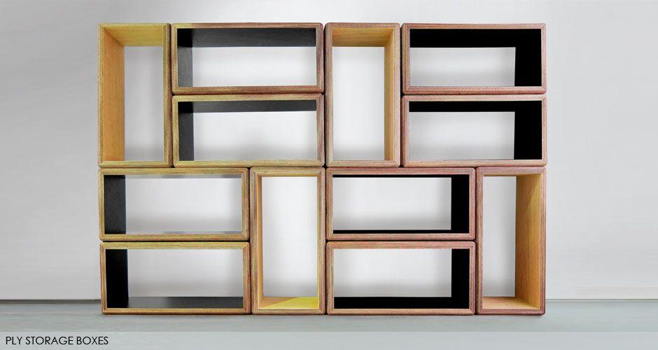 Ply Storage Boxes » Craft Design Realisation