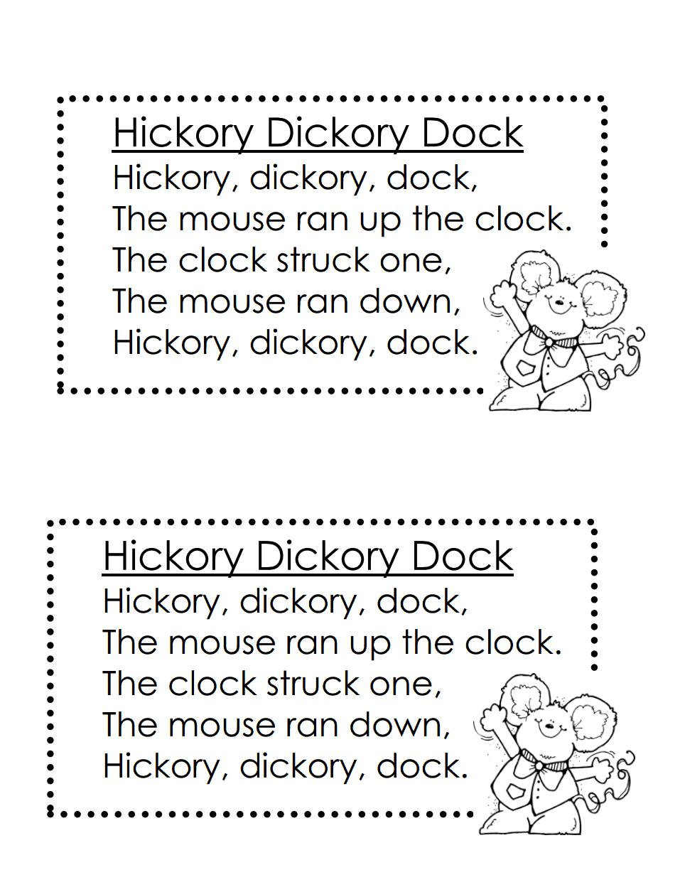 nursery rhymes.pdf Nursery rhymes, Rhymes, Nursery