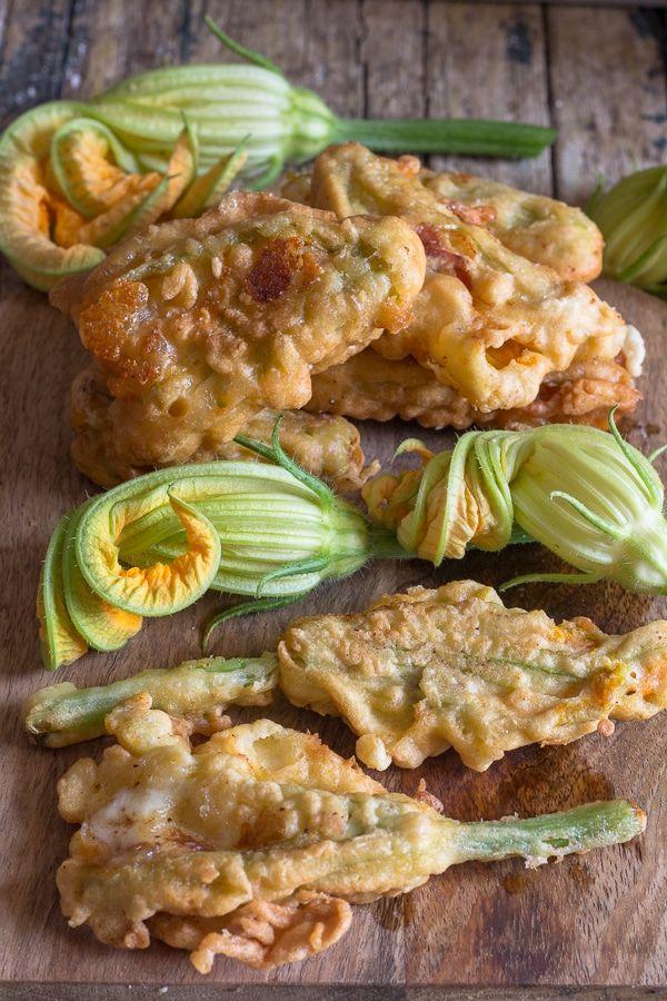 Photo of Italian Stuffed Zucchini Flowers – Mozzarella & Prosciutto the best recipe