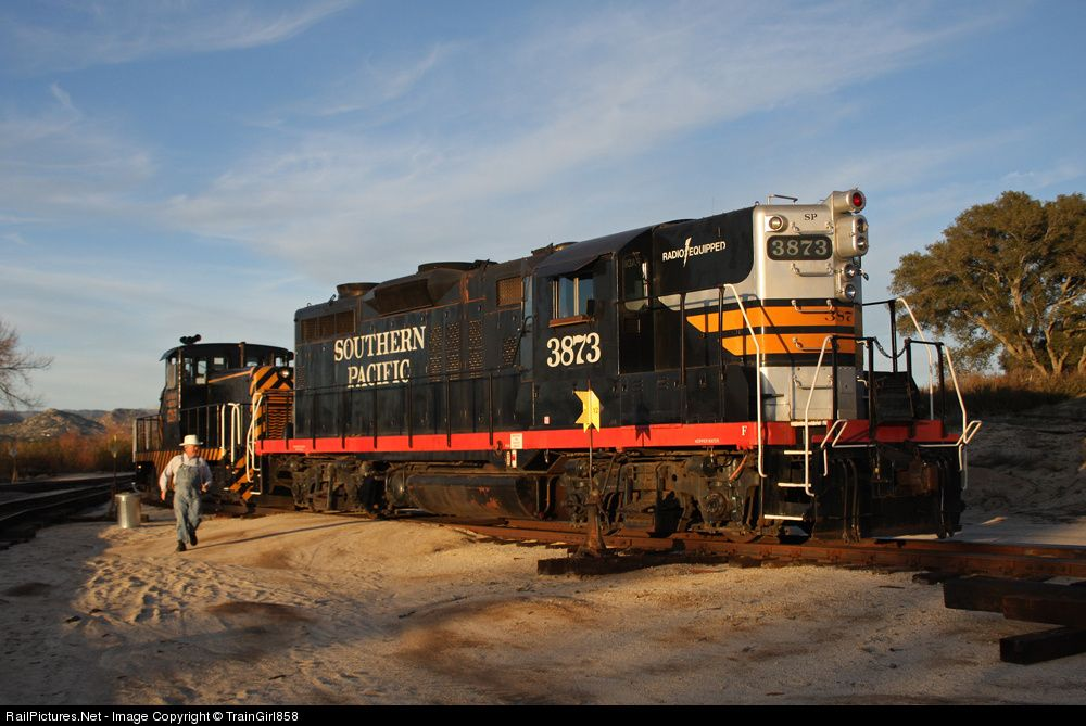 Photo SP 3873 Southern Pacific Railroad