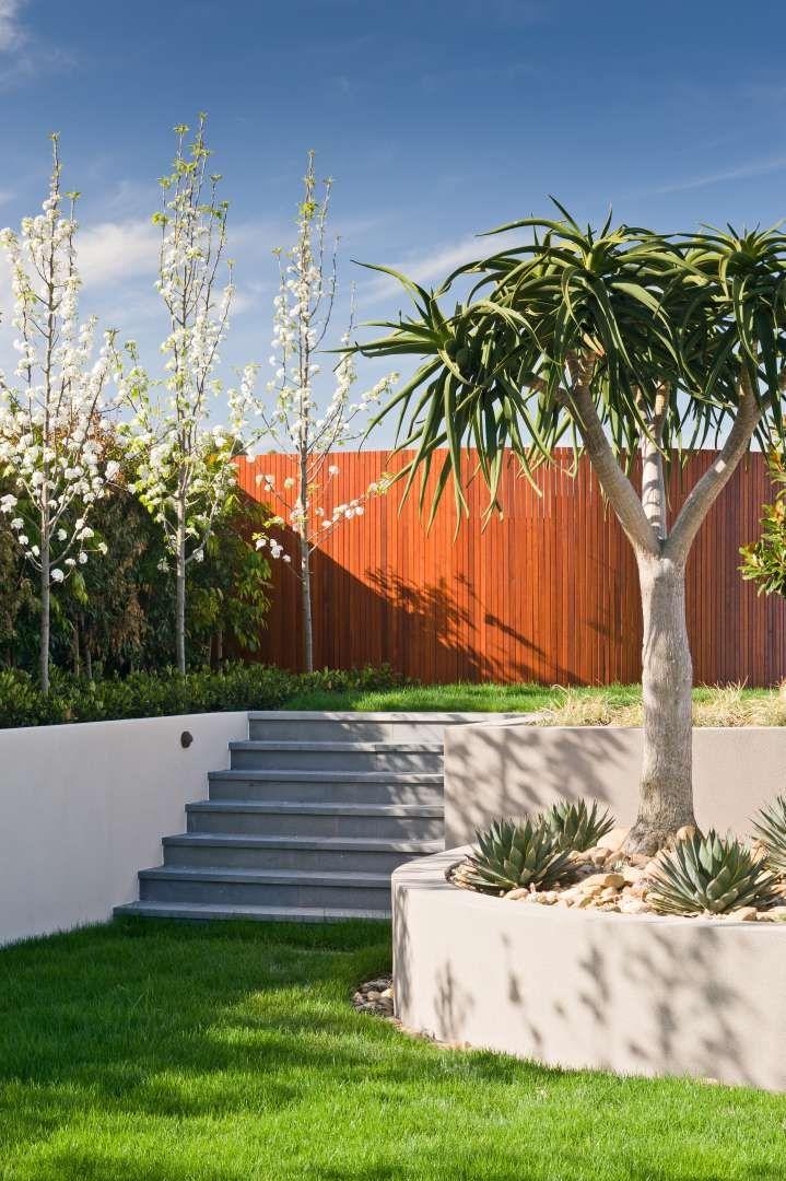 Australian Resort Style Garden on Natalie Court by Cos Design