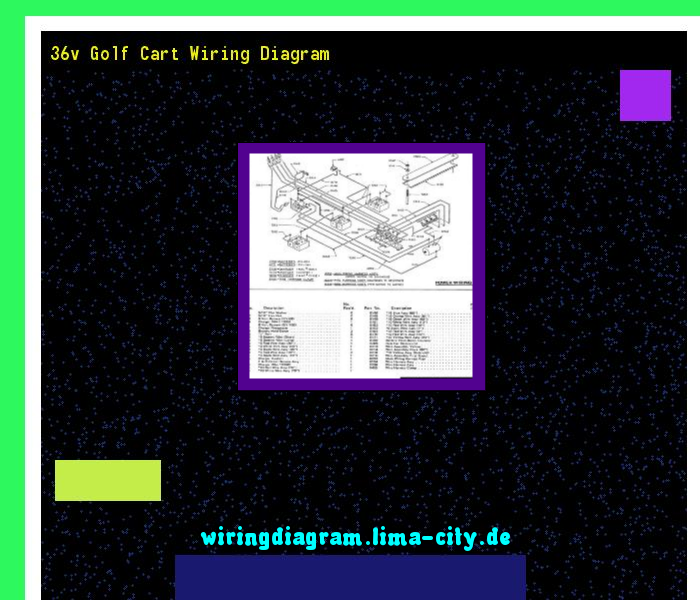36v Golf Cart Wiring Diagram  Wiring Diagram 17573