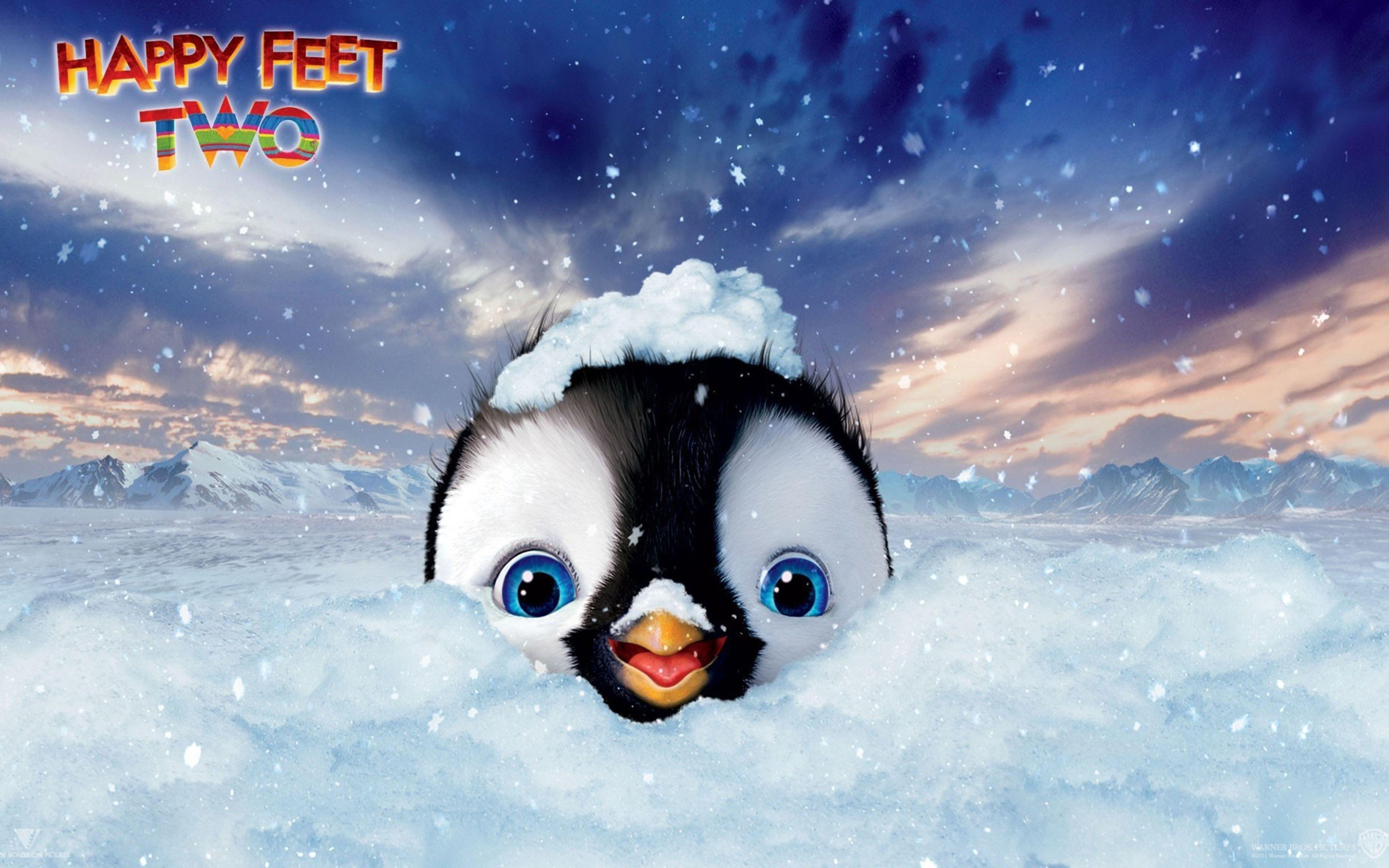 Wallpaper Download 5120x3200 Sweet Little Penguin Happy Feet Two Movie Wallpapers Hd Wallpaper Download For Ipad And Iphone Wid Peliculas Latinas Animacion