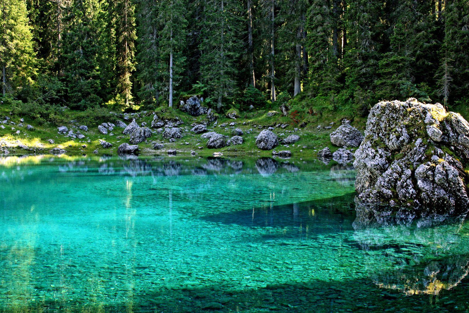 Lago di Carezza-Karersee Alto Adige Italy
