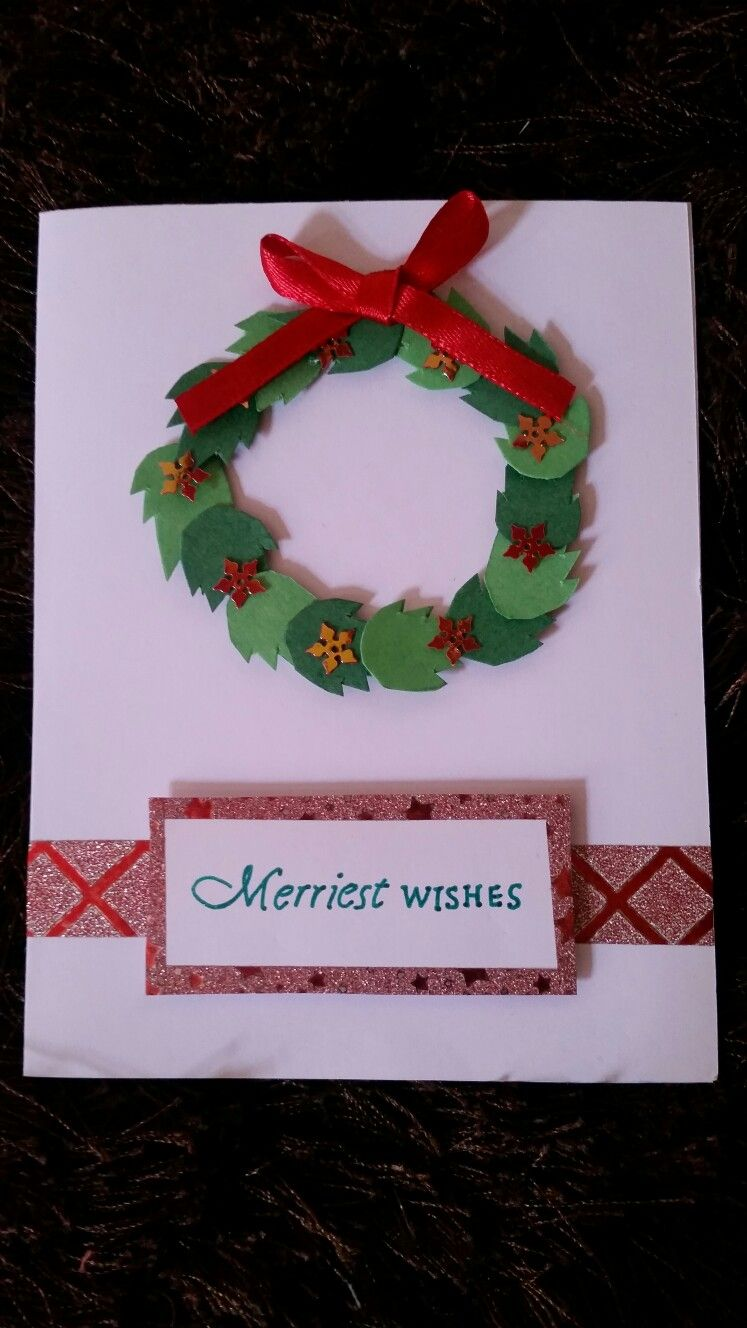 Handmade Christmas New Year Newyear Seasonal Greeting