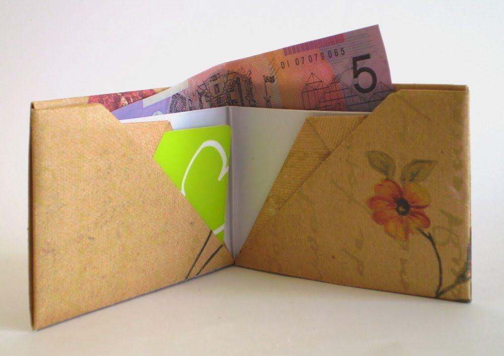 tutorial origami wallet