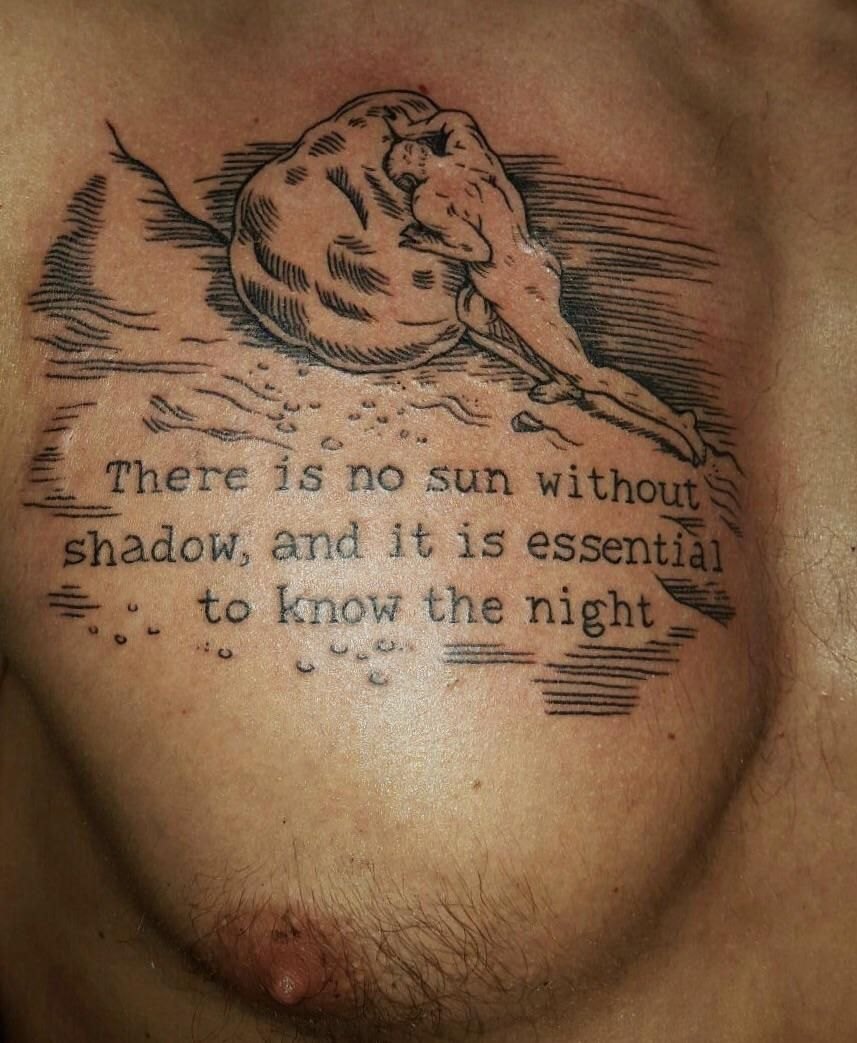 sisyphus tattoo pesquisa google tatuagem tattoo  albert camus the myth of sisyphus amy shapiro at three kings brooklyn updated