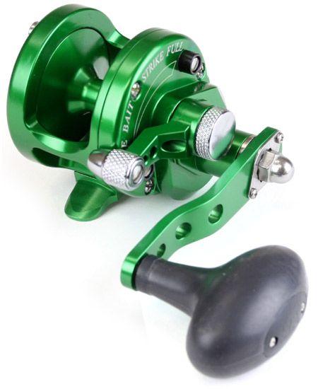 Avet SXJ 5 3 MC Single Speed Lever Drag Casting Reel Green