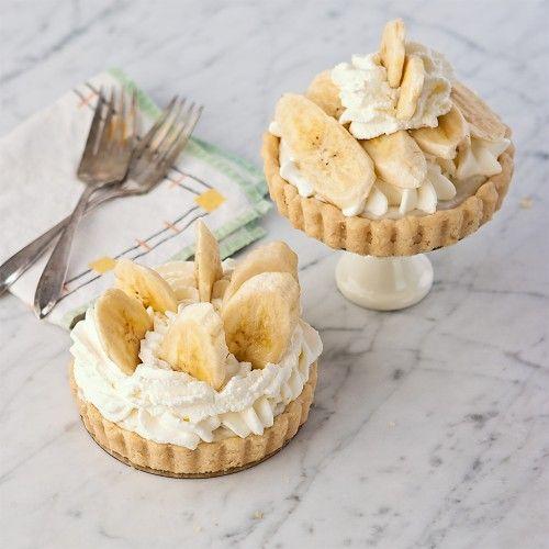 Banna Creme Pie Tarts
