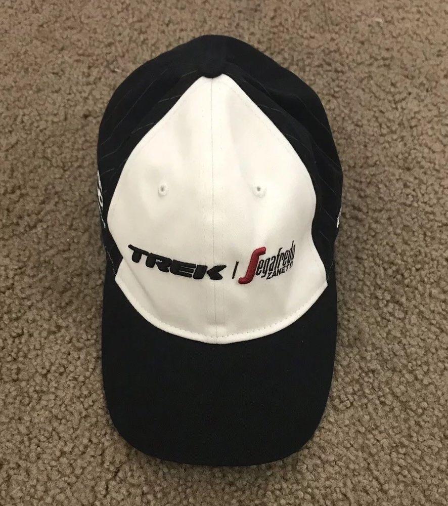 TREK-SEGAFREDO Hat Cap Fitted Size L XL Bike Bicycle Racing White Not  Adjustable 7898b6efd4b8