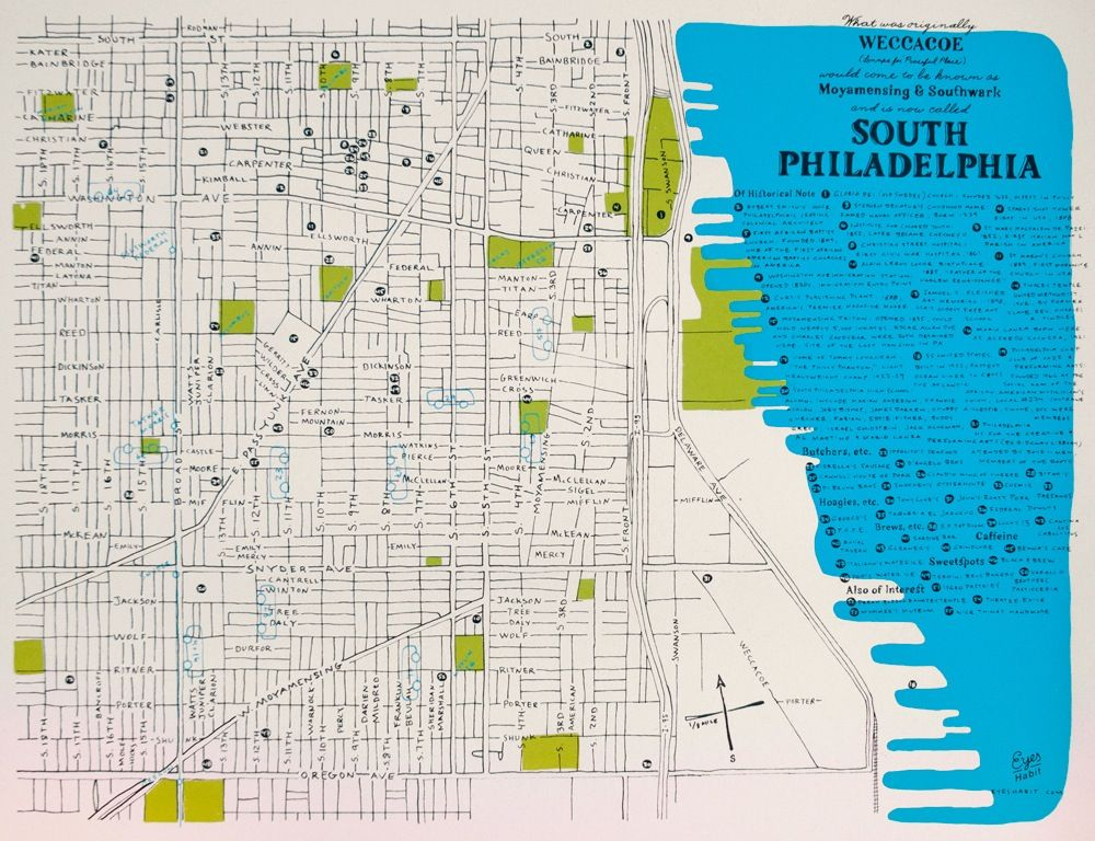 map of south philadelphia The South Philly Map Philadelphia Map South Philly Map map of south philadelphia