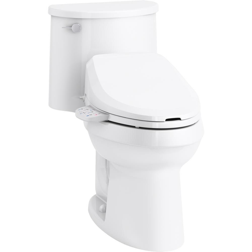Kohler Adair 1 Piece 1 28 Gpf Single Flush Elongated Toilet With