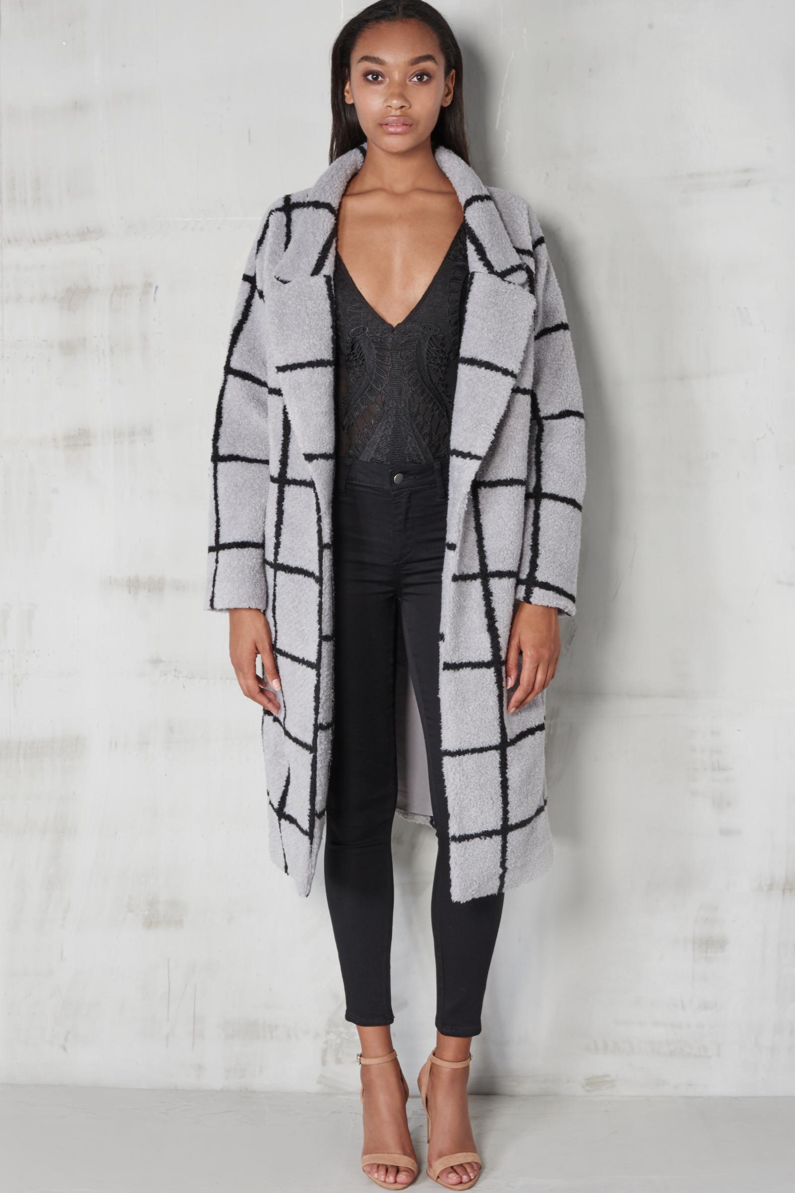 grey oversized check boyfriend coat shop snob mode collection #2: de1370a4ae7e8455f1baa45a114d307b