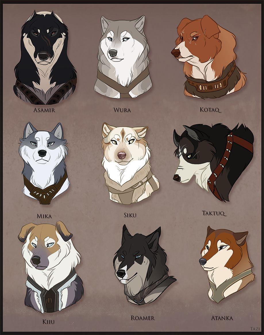 Ikkuma Dogs by on DeviantArt