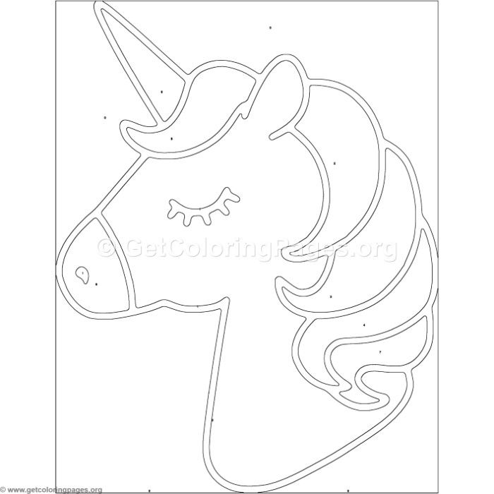 Free To Download Color By Number Unicorn Coloring Pages Coloring Coloringbook Coloringpages Colorbynu Unicorn Coloring Pages Unicorn Stencil Coloring Pages