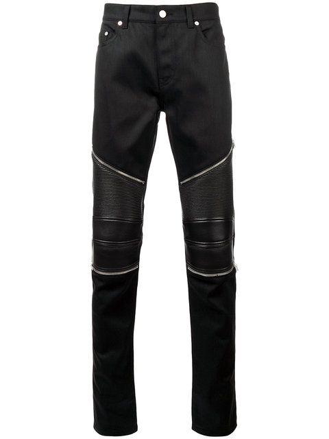a72266ab246 Shop Saint Laurent skinny biker jeans. | Menswear in 2019 | Skinny ...