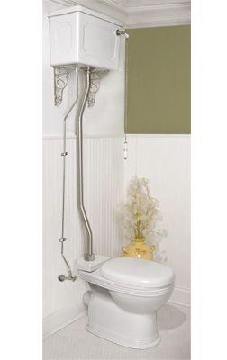 Pull Chain Toilet Love Pull Chain Toilets  New Interior Ideas  Pinterest  Toilet