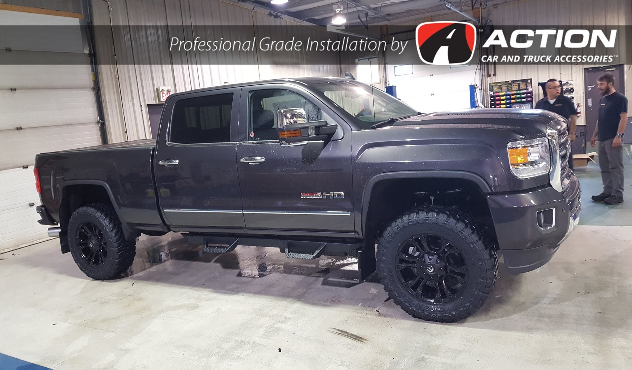 This Gmc From Our Edmonton Ab Location Is Complete With 4 Lift