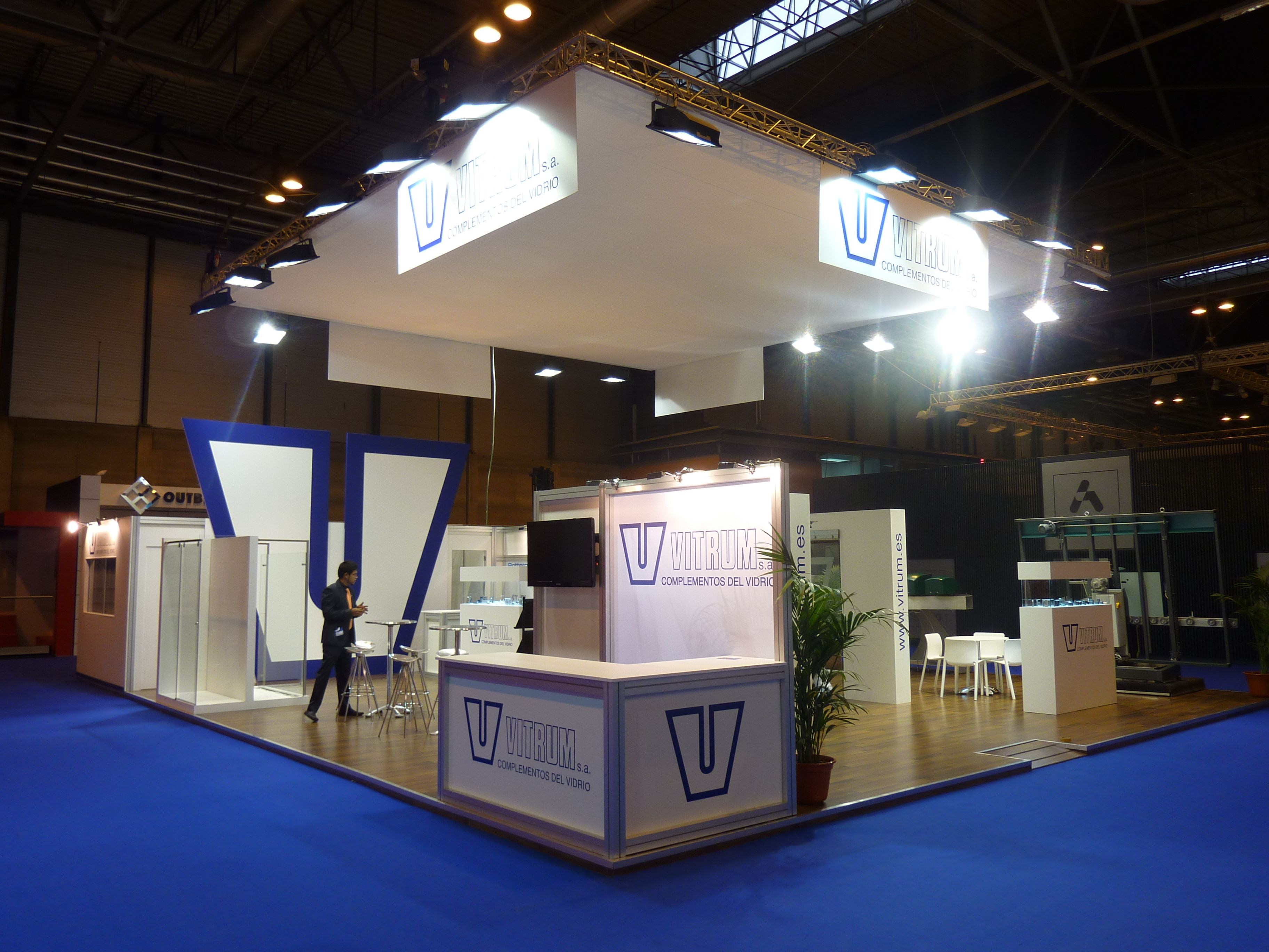 Exhibition Stand Builders Es : Stand by servis veteco stand builder barcelona spain europe