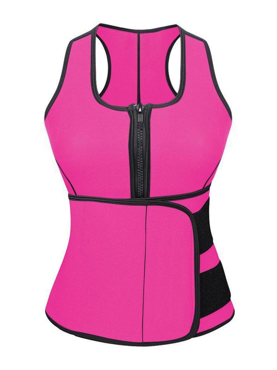 7babd465f99 Neoprene Shaper Compression Vest Sports Waist Trainer Belt ...