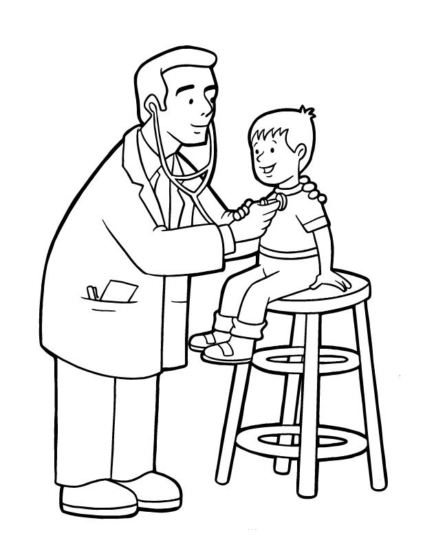 jEiAp8xce.jpg (618×798) | Doctor para colorear, Enfermera para ...