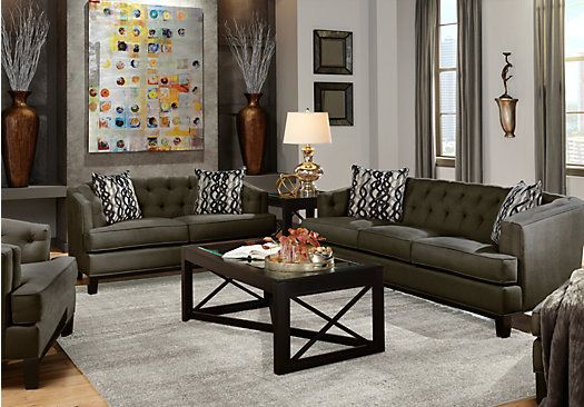 7 Pc Living Room From Sets