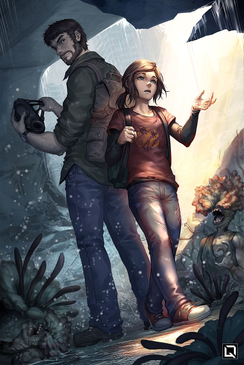 The Last Of Us The Last Of Us The Last Of Us2 Joel And Ellie