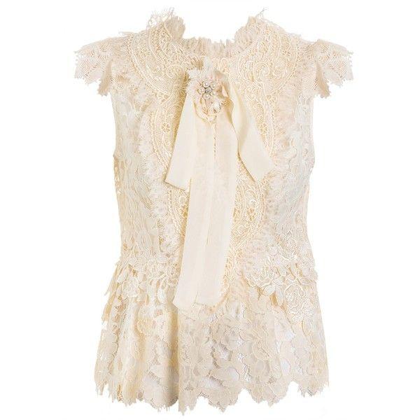 Regata Feminina Gabi Vitoriano - Off White - Marthe Medeiros -... (€1.740) ❤ liked on Polyvore featuring accessories