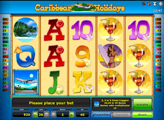 Картинки по запросу слот Caribbean Holidays