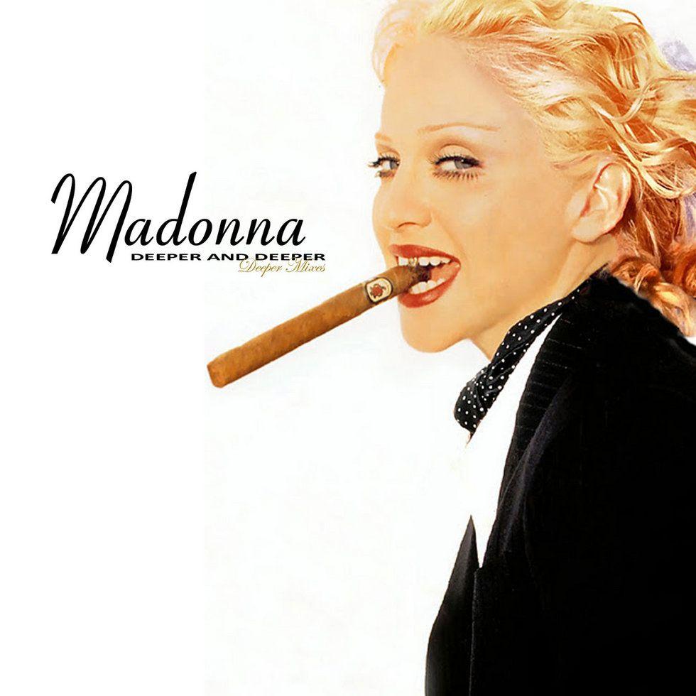 Madonna – Deeper and Deeper (single cover art)