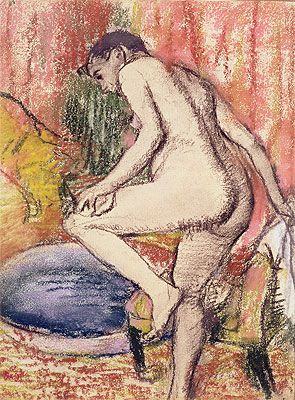 The Toilet,1883 | Degas | Private Collection
