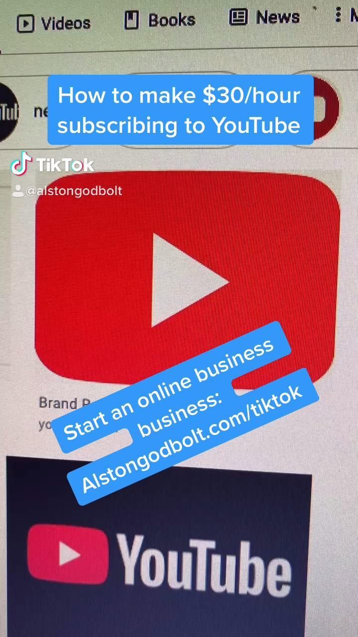 Make Money With Youtube Without Creating Videos Video Money Making Hacks Money Life Hacks Business Motivation