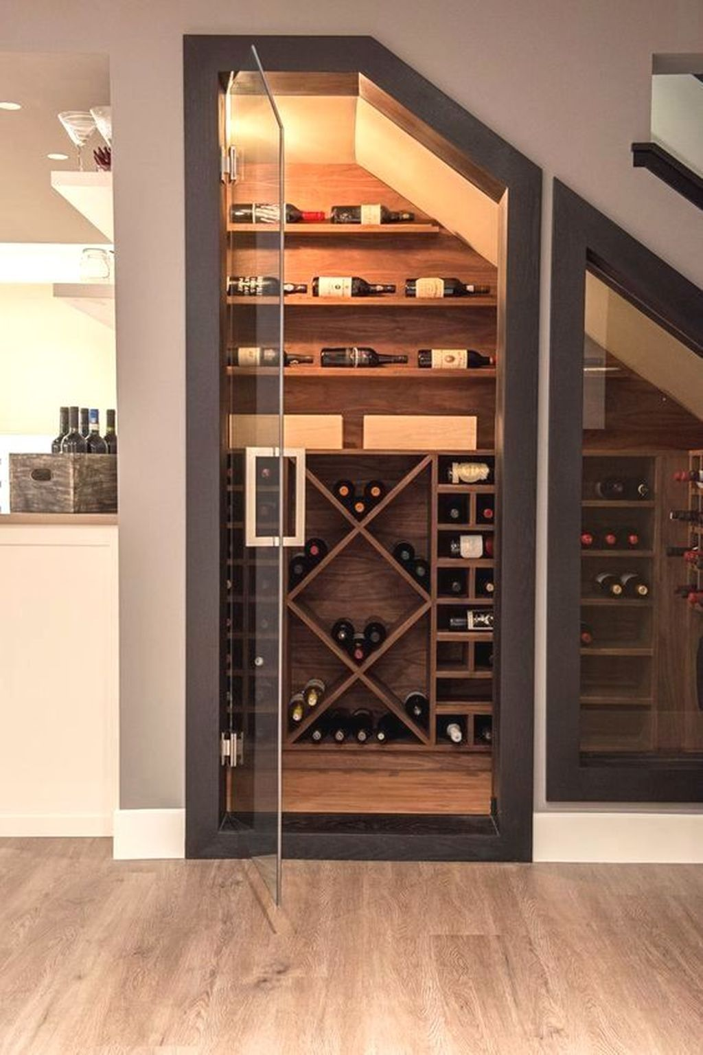 37 Clever Ideas To Make Use Of Your Under Stairs Home Wine