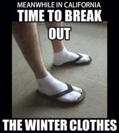 Image result for california seasons meme